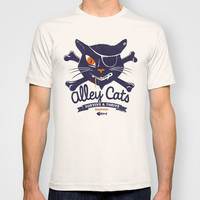 Alley Cats T-shirt by Victor Calahan
