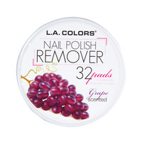 LA Colors - Nail Polish Remover Pads - Grape
