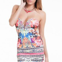 Summer Strapless Dress
