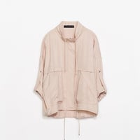 SOFT JACKET WITH POCKETS