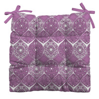 Sharon Turner Saffreya Orchid Outdoor Seat Cushion ~ 10% off with code: sharonturner