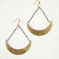 Ax + Apple Crescent Earrings at Free People Clothing Boutique