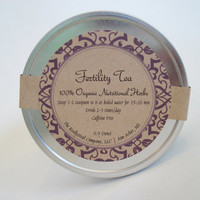 Organic Herbal Fertility Tea