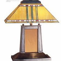 Meyda Tiffany 26004 - Priarie Corn Mission Transitional Desk Lamp MD-26004