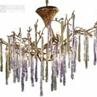 Elk Lighting 1703/12 - Stalavidri Modern / Contemporary Chandelier ELK-1703-12