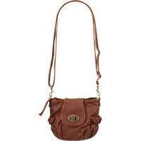 Turn Lock Crossbody Bag