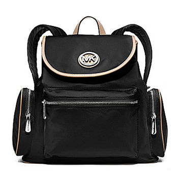 MICHAEL Michael Kors Fulton Flap Nylon Backpack | Dillards.com