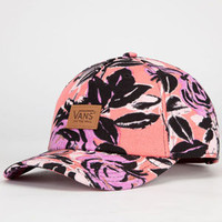 Vans Hawthorne Womens Strapback Hat Neon Orange One Size For Women 23413456301
