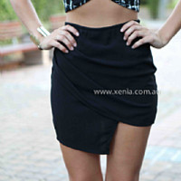 REVOLUTION SKIRT , DRESSES, TOPS, BOTTOMS, JACKETS & JUMPERS, ACCESSORIES, 50% OFF , PRE ORDER, NEW ARRIVALS, PLAYSUIT, COLOUR, GIFT VOUCHER,,SKIRTS,Black,MINI Australia, Queensland, Brisbane
