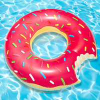 Gigantic Donut Pool Float - Donut Inner Tube