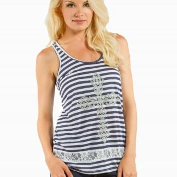 CAVIAR BEAD GRAPHIC TANK