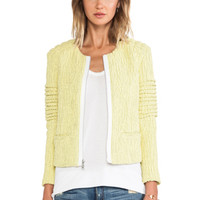 Elizabeth and James Bronco Jacket in Yellow