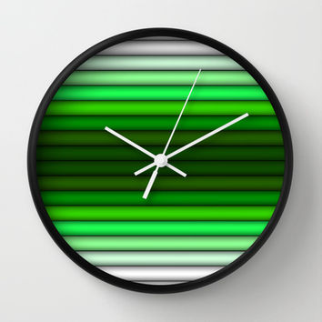 The Blinds Wall Clock by Texnotropio