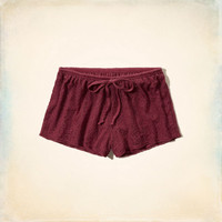 Point Mugu Lace Sleep Shorts