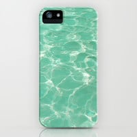 Pastel Pool. iPhone & iPod Case by Sara Eshak