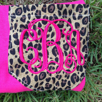 Cheetah Monogrammed Shirt