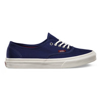 Vans Pop Authentic Slim (patriot blue/cordovan)