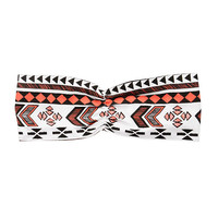 Kardashian Kids Girls Tribal Print Twist Headwrap