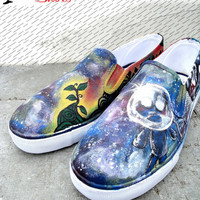 Fathers Day Sale BOB in Space painted size 12 by BRGproductions
