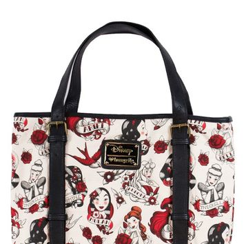Loungefly Disney Princess Tattoo Tote | Blame Betty