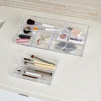 The Container Store > Cosmetic Stax Vanity Trays