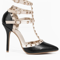 Blogger Studded Heel $40