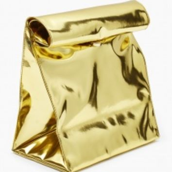 Gold Metallic Bag | NOT JUST A LABEL