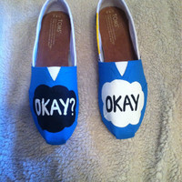 The Fault in Our Stars painted Toms