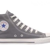 Kids Converse Chuck Taylor All Star Hi Top Charcoal Grey : American Athletics