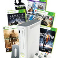 Xbox 360 20GB Refurbished Blast from the Past System Bundle for Xbox 360 | GameStop