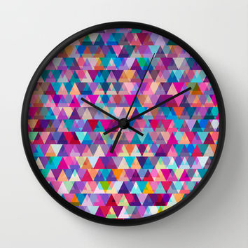 Mix #569 Wall Clock by Ornaart