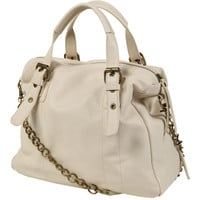 Chain Strap Boston Bag