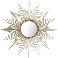 Gold Burst Wall Decor