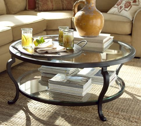 louisa coffee table pottery barn from pottery barn love for