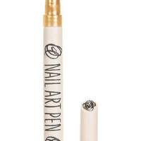 Nail Art Pen in Fools Gold - Topshop USA