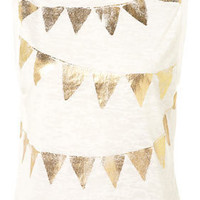 Petite Jubilee Bunting Tank - New In This Week  - New In  - Topshop USA