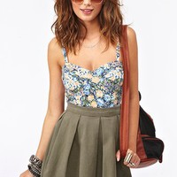 Brianna Floral Tank in Clothes Tops at Nasty Gal