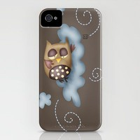 Sleepy guardian iPhone Case by Carina Povarchik | Society6