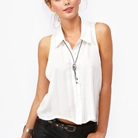 Summer Daze Crop Shirt in Clothes Tops at Nasty Gal