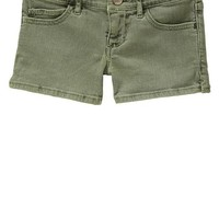 Gap Girls 1969 Denim Shorties Size 10 - walden green