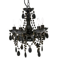 Simza Black Chandelier