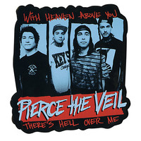Pierce The Veil Heaven Die-Cut Sticker
