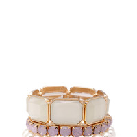 Bejeweled Stretch Bracelet Set