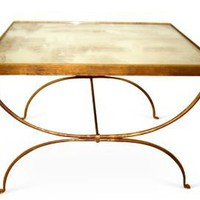 One Kings Lane - Top Tables - Arabella Coffee Table, Antiqued Gold