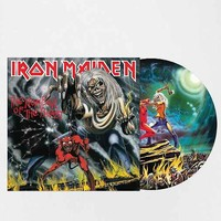 Iron Maiden - The Number Of The Beast Picture Disc LP - Urban Outfitters