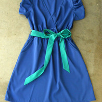 Periwinkle Summer Dress | deloom
