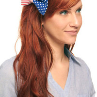 It's in the Flag Hair Clip | Mod Retro Vintage Hair Accessories | ModCloth.com