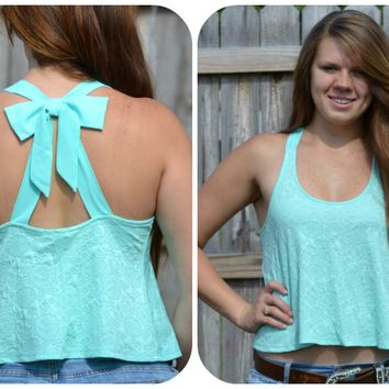 Ribbon and Bows Tank