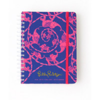 Lilly Pulitzer 2014-2015 Loopy Lilly Large Agenda