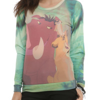 Disney The Lion King Trio Girls Pullover Top